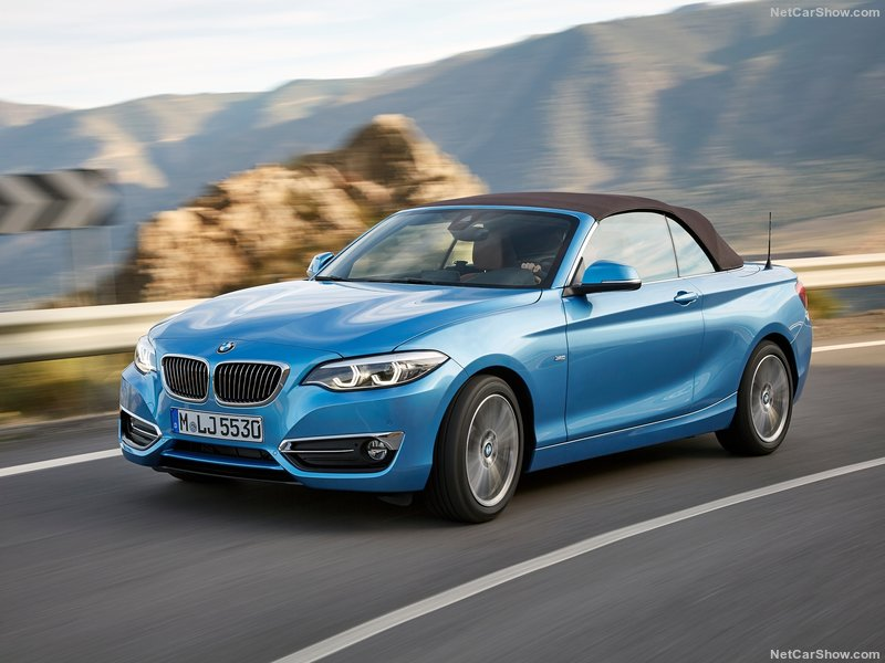 BMW 2 Series Convertible 218i 1.5 M Sport 2dr
