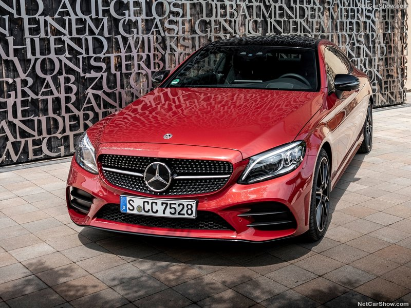 New Mercedes C Class Coupe 2dr