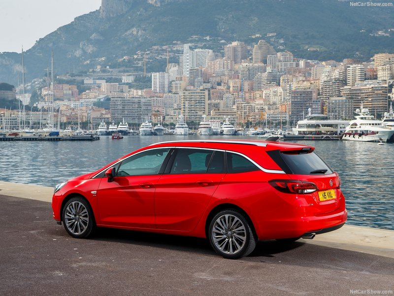 Vauxhall Astra Sport Tourer 1.4i 16V Design 5dr